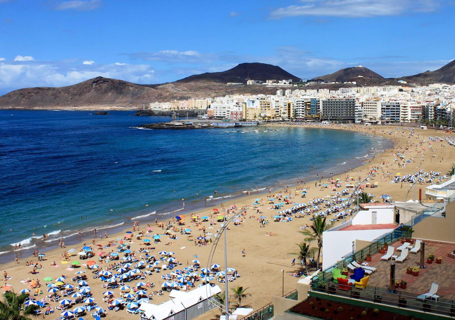Paysage de Gran Canaria (Grande Canarie)