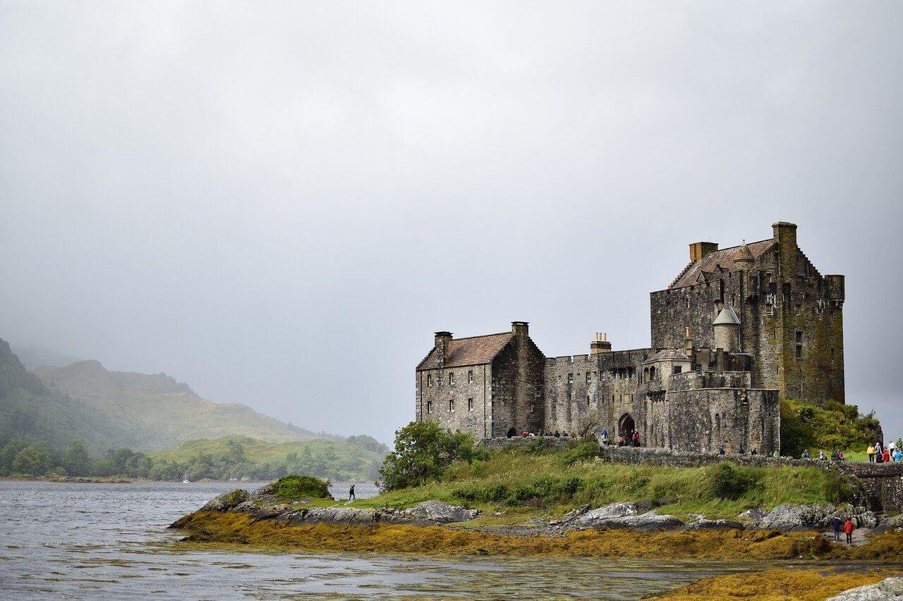 château Eilean Donan en Ecosse