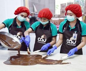 La fabrique de chocolat CAU (Marga)