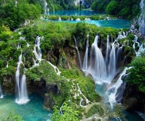 Le parc national des lacs de Plitvice