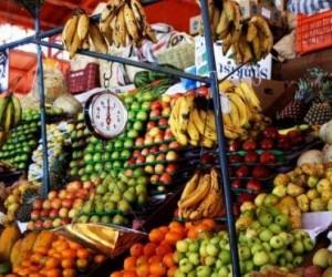 Goûter les fruits exotiques au marché du Moule
