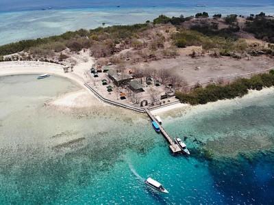 Photo de : L'île de Manjangan