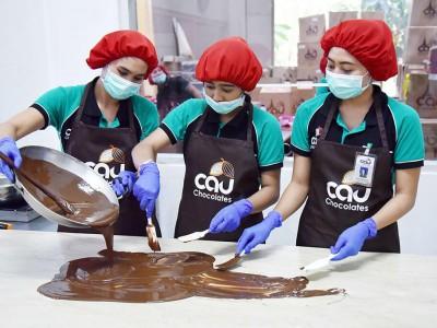 Photo de : La fabrique de chocolat CAU (Marga)