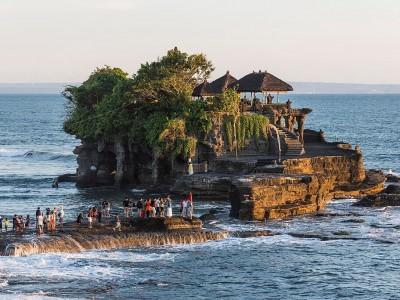 Photo de : Le temple de Tanah Lot