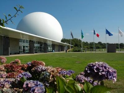 La parc du Radome (Pleumeur-Bodoue)