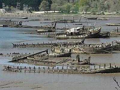 Le cimetière de bateaux de Kerhervy
