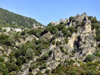 Le col de Pinzu à Vergine