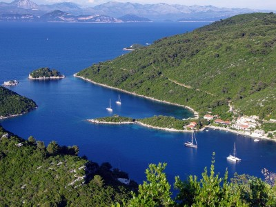 Photo de : L'île de Mljet