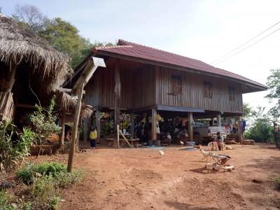 Dormir chez l'habitant dans un village de l'ethnie Akhas près de Chiang Raï