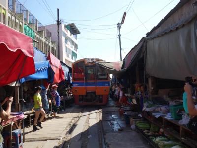 Marché de Mae Klong