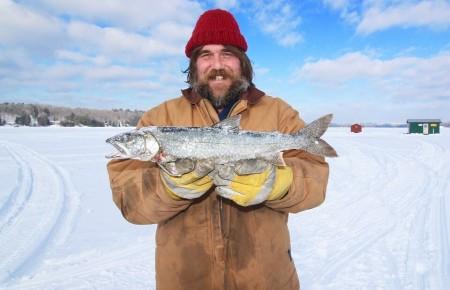 Photo de : Aller à Calgary pour pêcher dans la glace