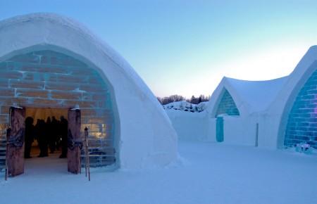 Photo de : Aller à Québec pour séjourner dans un hôtel givré !