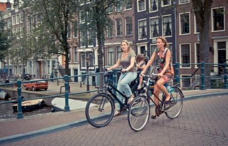 Photo de : Amsterdam, la paisible
