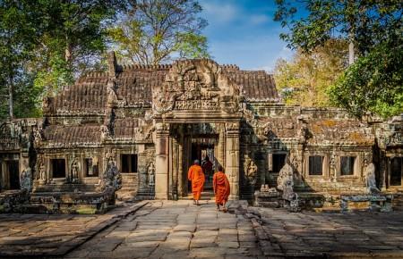 Photo de : Arpenter les temples d'Angkor