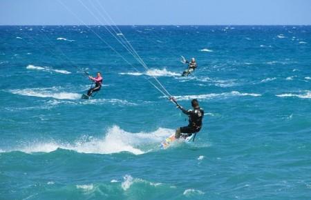Photo de : Faire du kitesurf à Agadir