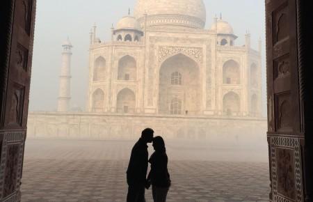 Photo de : Le Taj Mahal en Inde