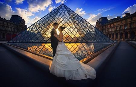 Photo de : Lune de miel dans la ville des amoureux
