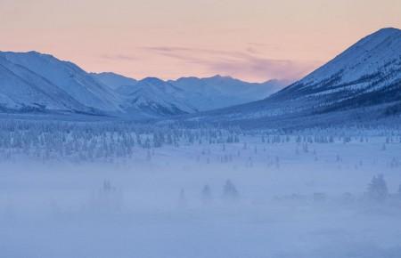 Photo de : Lune de miel geléedans la vallée d'Oymyakon