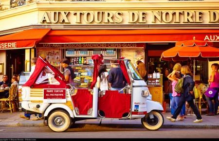 Photo de : Paris, la romantique