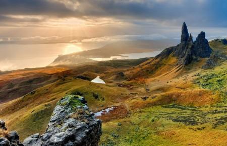 Photo de : Se ressourcer sur l'île de Skye en Écosse