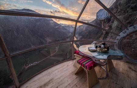 Photo de : Une nuit au Skylodge Adventure Suites au Pérou