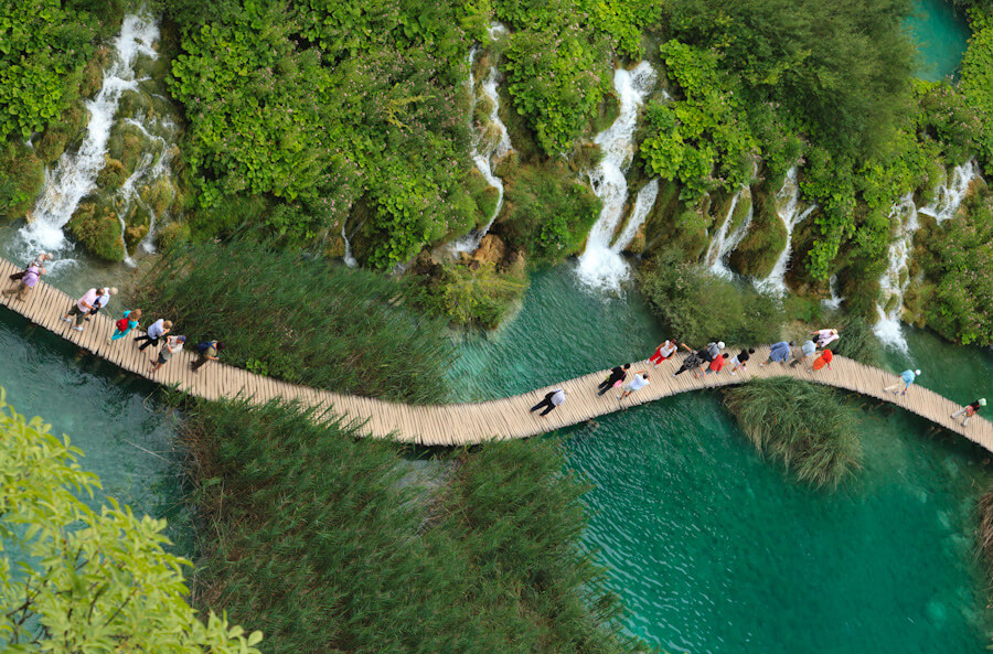 Plivice (Parc national) : Plitvice lakes