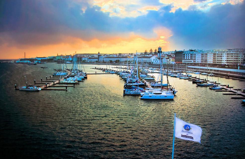 Ponta Delgada : Marina de Ponta Delgada