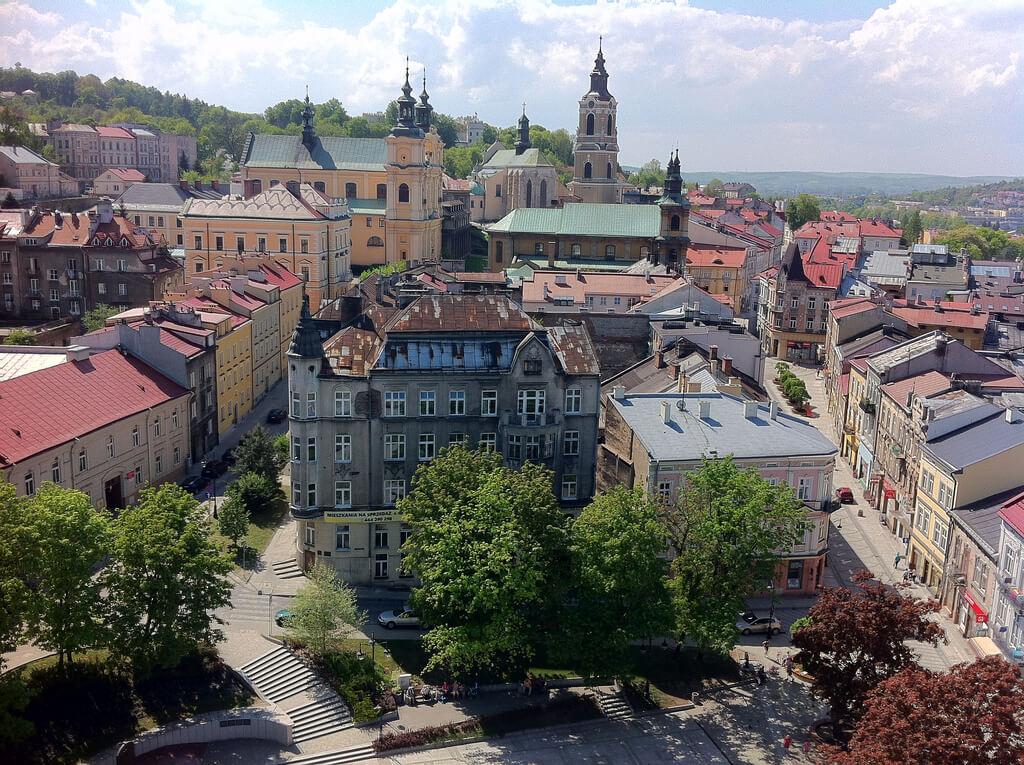 Przemysl : Przemysl Center view