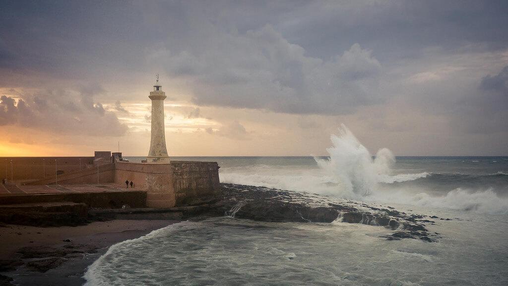 Rabat : Rabat Lighthouse