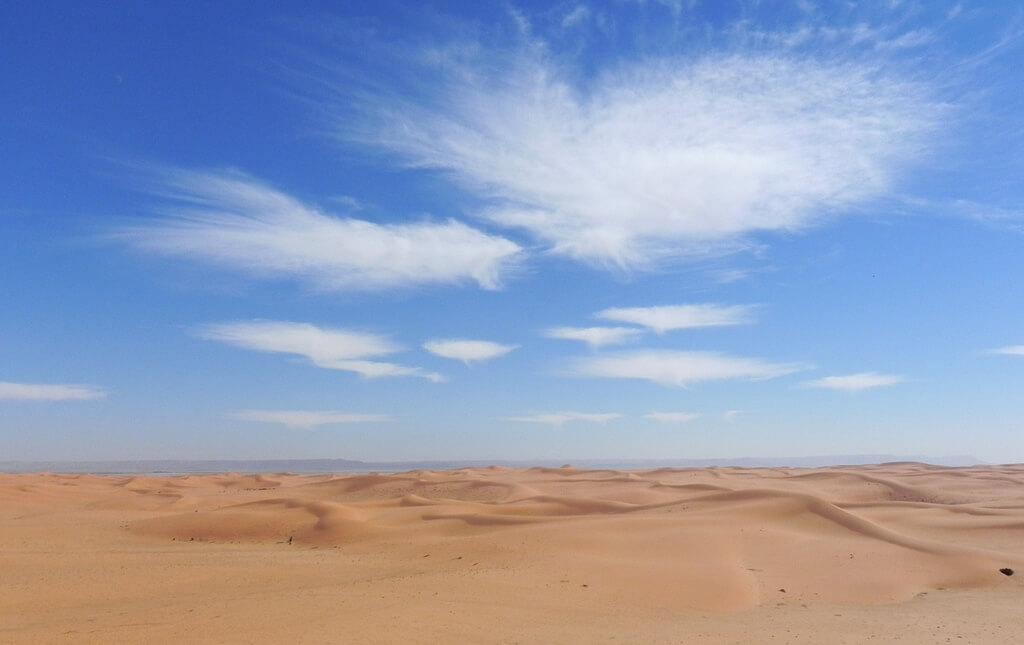 Riyad : Cloud burst