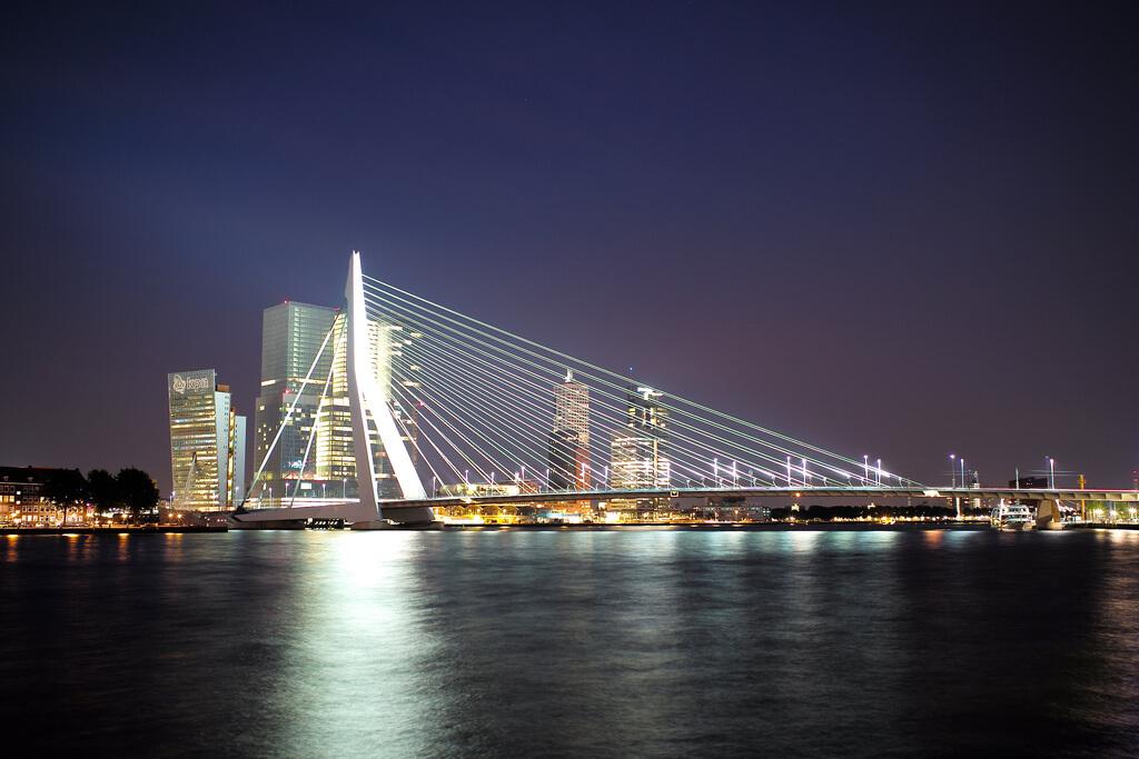 Rotterdam : Rotterdam: Erasmus Bridge