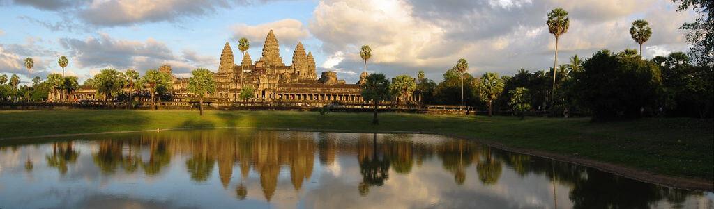 Siem Reap (Temples d'Angkor) : AngkorWat Temple View, Angkor, Cambodia (2)