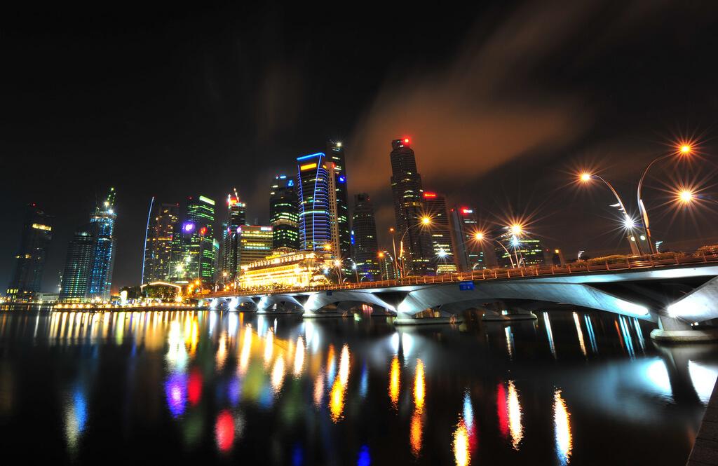 Singapour : Singapour : Clark Quay sur la rivière Singapour