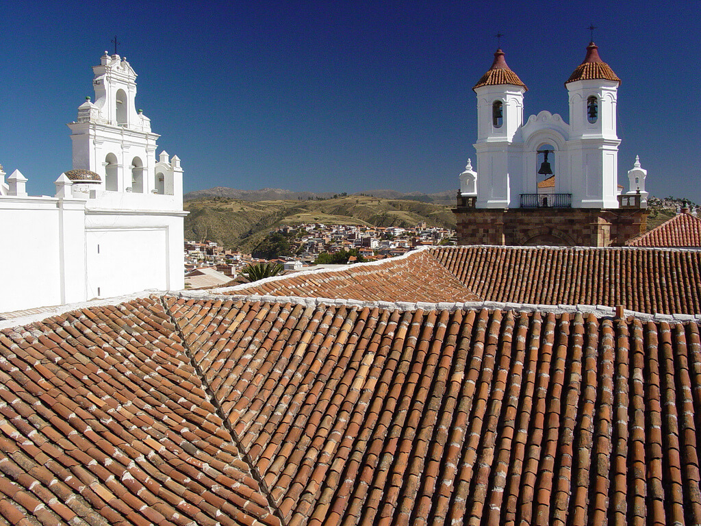 Sucre : Tiled Roofs and Colonial Architecture - Sucre - Bolivia