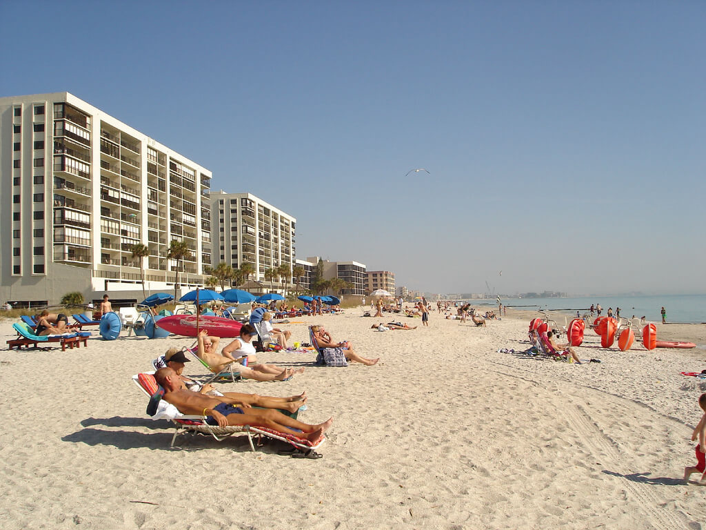 Tampa : Madiera Beach.