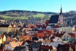 Český Krumlov (Bohême-du-Sud) :