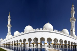 Abu Dhabi : Sheikh Zayed Grand Mosque