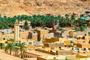 Algérie : El Atteuf, dans la vallée du Me Zab
