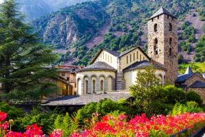 Andorre : Église de Saint Esteve d'Andorra la Vella