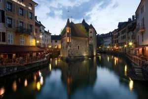 Annecy (Haute-Savoie) : The Palais de l'Isle