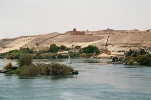 Assouan : Nil near Assouan