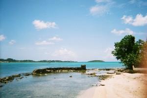 Saint-Martin : La baie-Nettlé
