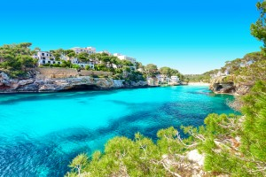 Baléares : Cala Santanyi à Majorque