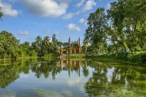 Bangladesh : Mosquée Tetulia Jami à Tetulia
