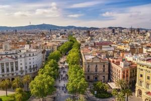 Barcelone : La Rambla à Barcelone