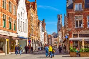 Belgique : Le beffroi de Bruges