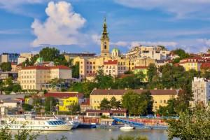 Belgrade : Vieux centre-ville de Belgrade