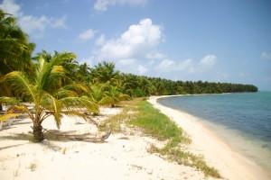 Belize : Plage de Half Moon Caye au Belize
