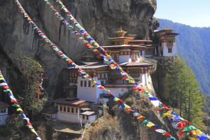 Bhoutan : Le Monastère de Taktsang au Bhoutan