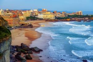 Biarritz : Biarritz et de ses célèbres plages, Miramar et La Grande Plage